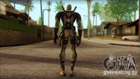 Xforce Deadpool The Game Cable для GTA San Andreas второй скриншот