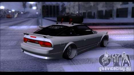 Nissan 240SX для GTA San Andreas вид слева