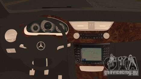 Mercedes-Benz CLS 350 для GTA San Andreas вид сзади слева