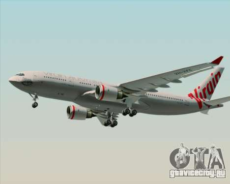 Airbus A330-200 Virgin Australia для GTA San Andreas вид справа