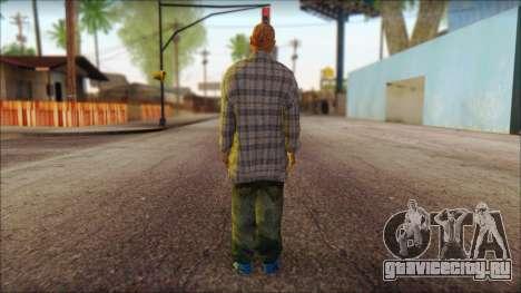 Los Aztecas Gang Skin v1 для GTA San Andreas второй скриншот