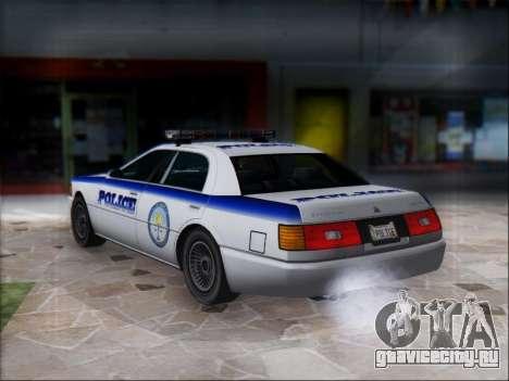 Admiral Police для GTA San Andreas вид справа