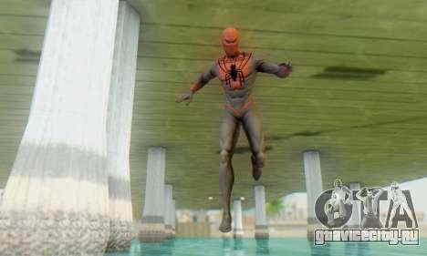 Skin The Amazing Spider Man 2 - Suit Assasin для GTA San Andreas третий скриншот