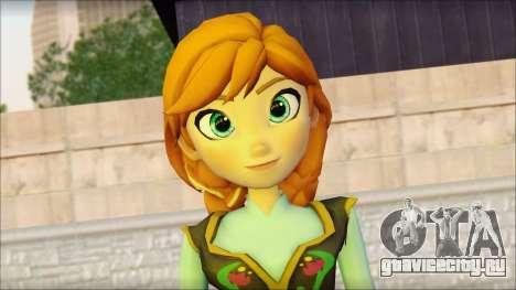 Princess Anna (Frozen) для GTA San Andreas третий скриншот