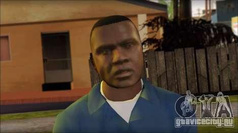 Franklin from GTA 5 для GTA San Andreas третий скриншот