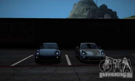ENB Series by phpa v5 для GTA San Andreas седьмой скриншот