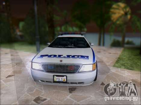 Admiral Police для GTA San Andreas вид слева