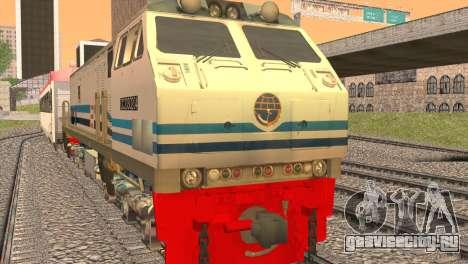 GE U20C CC 203 Old Livery для GTA San Andreas вид слева