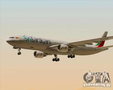 Airbus A330-300 SriLankan Airlines для GTA San Andreas двигатель