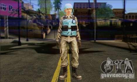 Миротворец ООН (Postal 3) для GTA San Andreas