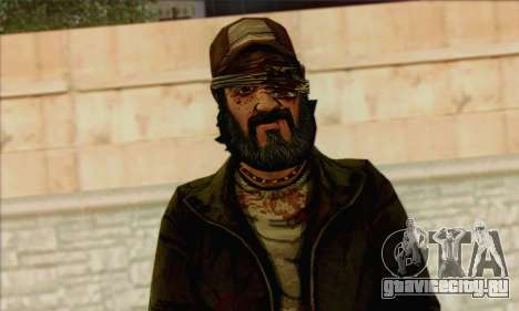 Kenny from The Walking Dead v3 для GTA San Andreas третий скриншот