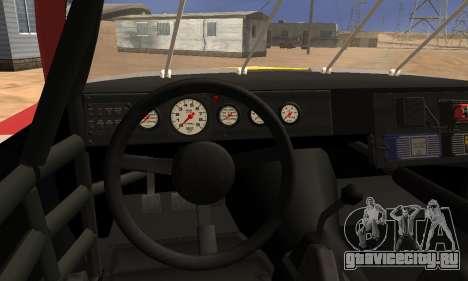 Buick Regal 1983 для GTA San Andreas вид изнутри