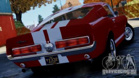 Shelby Cobra GT500 1967 для GTA 4 вид слева