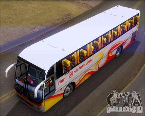Marcopolo Victory Liner 7001 для GTA San Andreas вид сзади