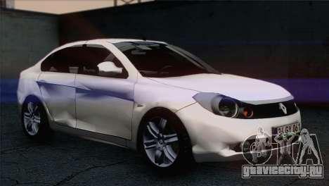 Renault Symbol 2009 для GTA San Andreas