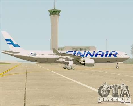 Airbus A330-300 Finnair (Current Livery) для GTA San Andreas вид изнутри