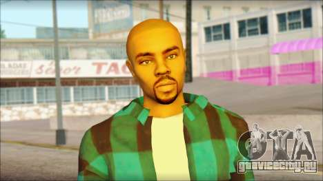 Los Aztecas Gang Skin v3 для GTA San Andreas третий скриншот