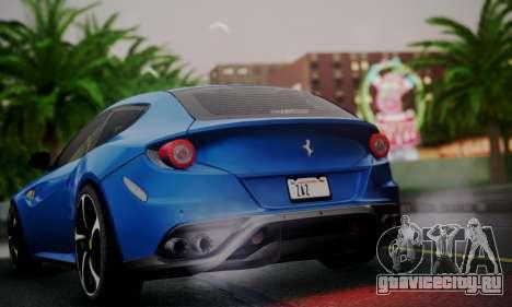 Ferrari FF 2012 для GTA San Andreas вид справа
