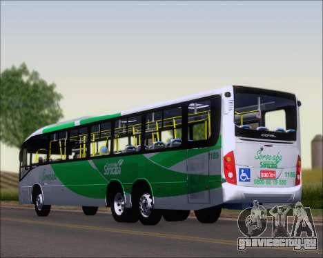 Comil Svelto BRT Scania K310IB 6x2 Sorocaba для GTA San Andreas вид слева