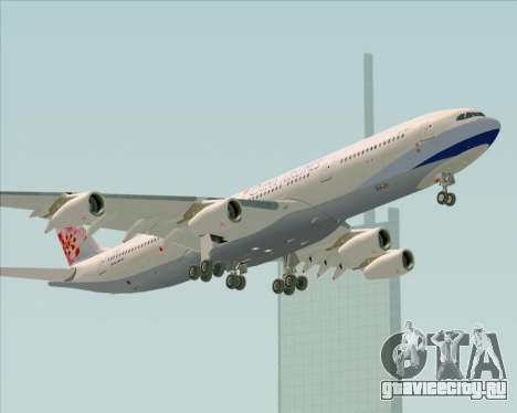 Airbus A340-313 China Airlines для GTA San Andreas вид сверху