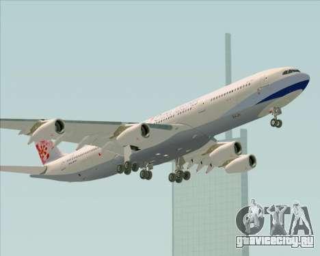 Airbus A340-313 China Airlines для GTA San Andreas вид сверху