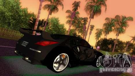 Nissan 350Z Veiside DK для GTA Vice City вид слева