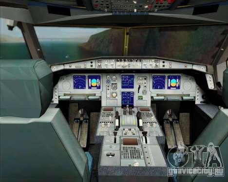 Airbus A330-300P2F DHL для GTA San Andreas салон