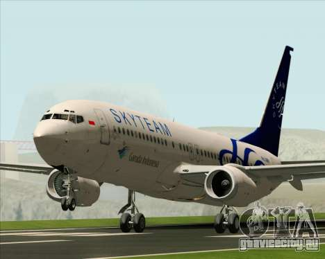 Boeing 737-86N Garuda Indonesia для GTA San Andreas