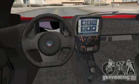 Marussia B2 для GTA San Andreas вид сзади