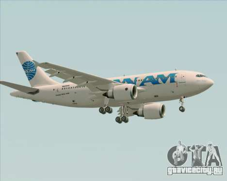 Airbus A310-324 Pan American World Airways для GTA San Andreas вид снизу