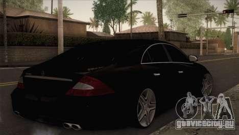 Mercedes-Benz CLS 350 для GTA San Andreas вид слева