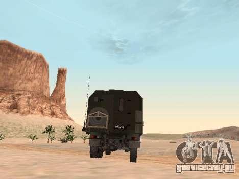 ЗиЛ 131 Кунг для GTA San Andreas вид справа