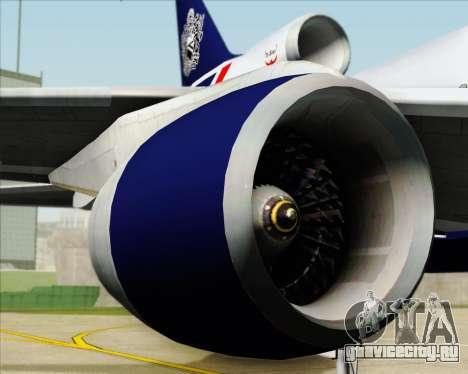 Lockheed L-1011 TriStar British Airways для GTA San Andreas вид сбоку