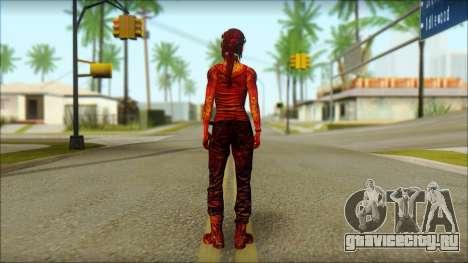 Tomb Raider Skin 9 2013 для GTA San Andreas второй скриншот