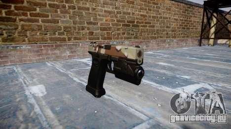 Пистолет Glock 20 choco для GTA 4