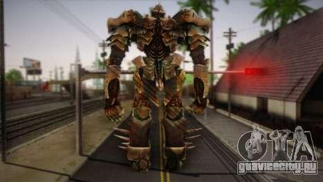 Гримлок v1 для GTA San Andreas второй скриншот