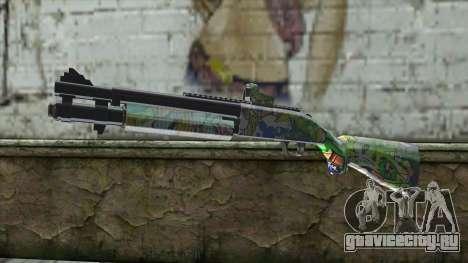 Graffiti Shotgun для GTA San Andreas