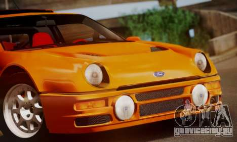 Ford RS200 Evolution 1985 для GTA San Andreas вид сверху