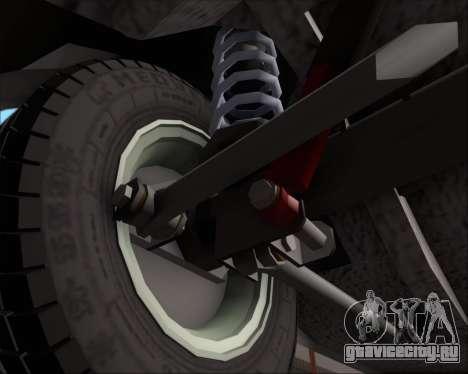 LADA 2107 для GTA San Andreas вид сверху