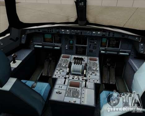 Airbus A350-941 Japan Airlines для GTA San Andreas салон