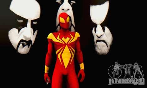 Skin The Amazing Spider Man 2 - DLC Iron Spider для GTA San Andreas