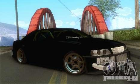 Toyota Chaser Drift 2JZ-GTE для GTA San Andreas