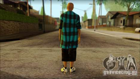 Los Aztecas Gang Skin v3 для GTA San Andreas второй скриншот