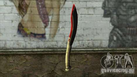 Fang Blade from PointBlank v1 для GTA San Andreas второй скриншот