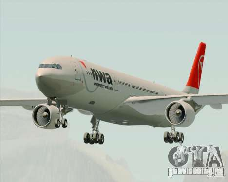 Airbus A330-300 Northwest Airlines для GTA San Andreas