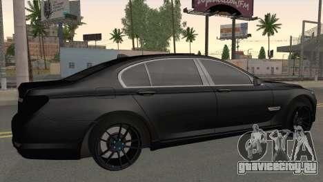 BMW 760 для GTA San Andreas вид слева