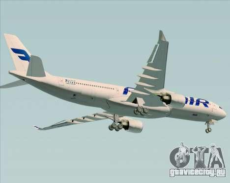 Airbus A330-300 Finnair (Current Livery) для GTA San Andreas колёса