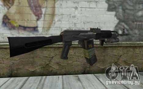 АК-101 с подствольником (Battlefield 2) для GTA San Andreas второй скриншот
