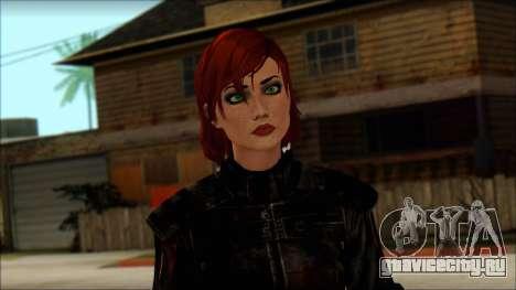 Mass Effect Anna Skin v9 для GTA San Andreas третий скриншот