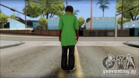 Snoop Dogg Mod для GTA San Andreas второй скриншот